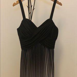 Stunning pleated long dress